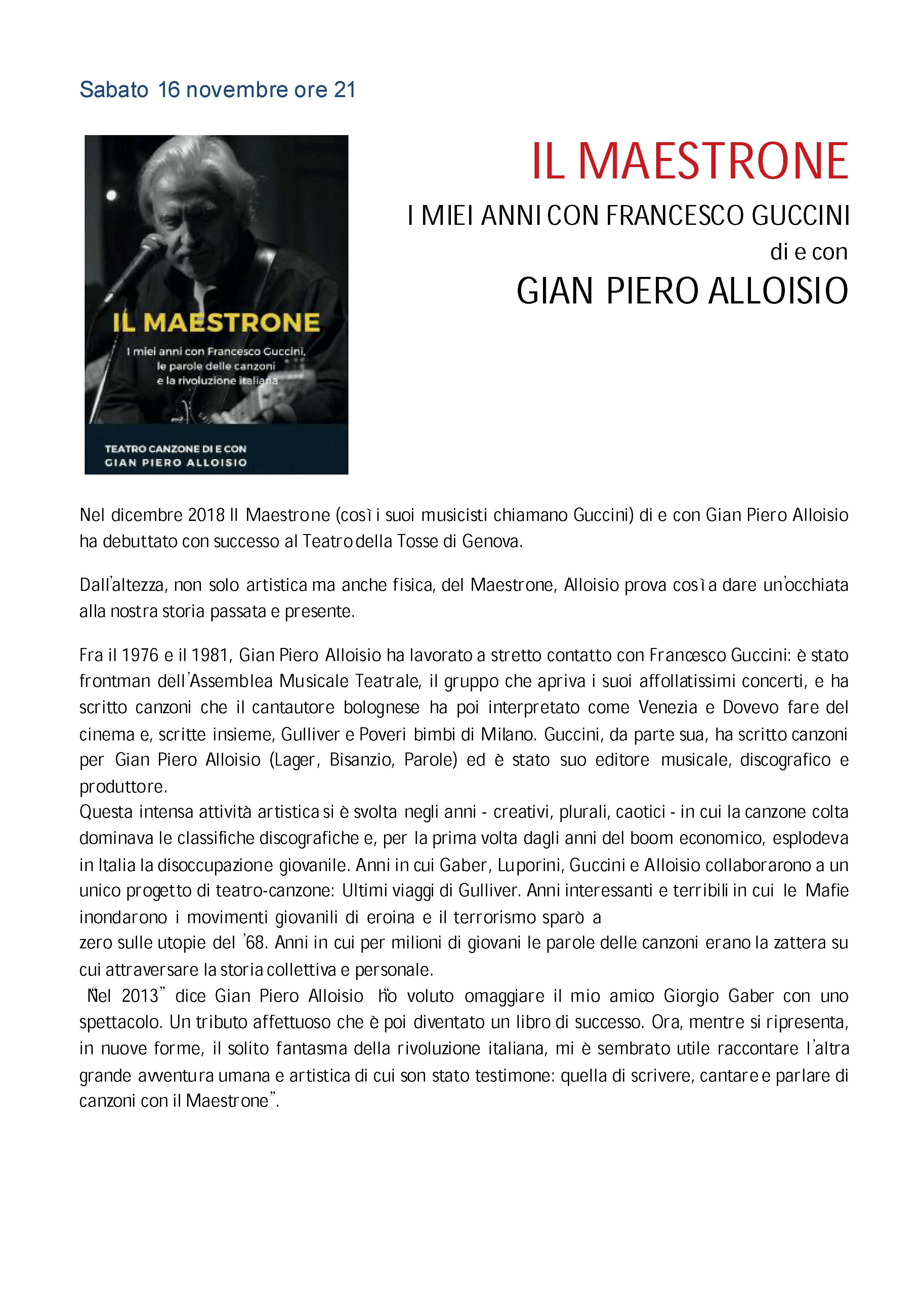 Teatro 2019 2020 Teatro Gassman Borgio Verezzi